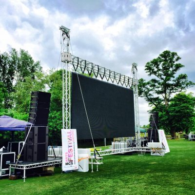 Prolyte MPT LED structure hire