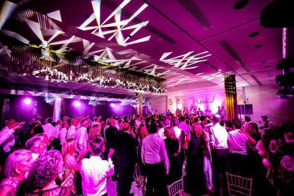 Wedding production lighting Watford