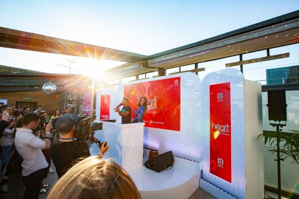 Brand launch corporate event press