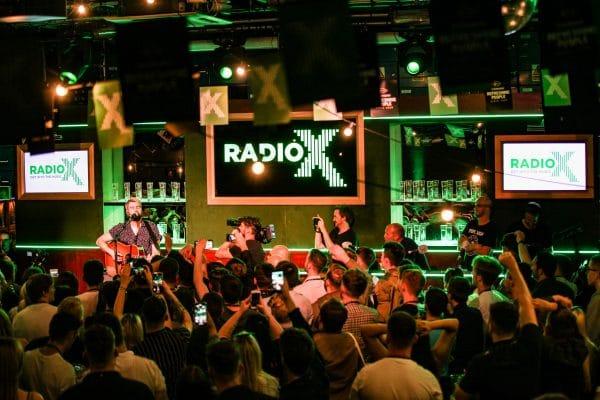 Live radio broadcast set manchester